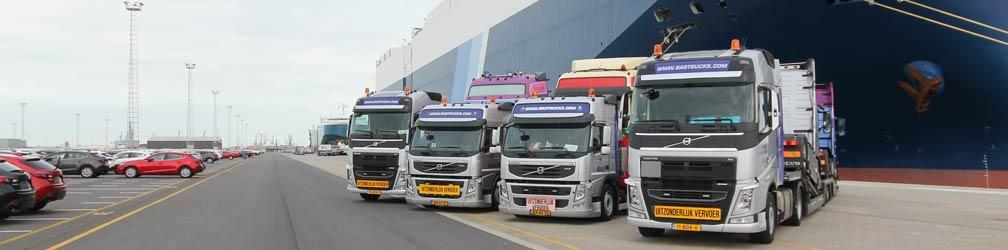 1500 грузовиков, Доставка по всему миру!