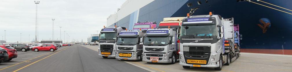 Le plus grand revendeur de camions et remorques d'occasion en Europe, transport mondial!