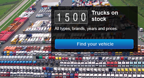 Europe's largest used truck and trailer dealer, worldwide delivery!