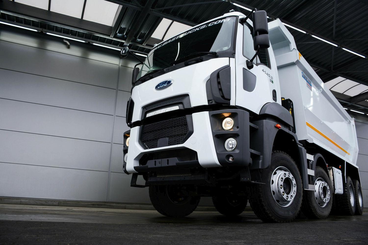 New Ford Tippers Bas Trucks