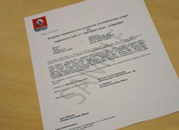 BAS Trucks can arrange a homologation document