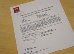 BAS Trucks can arrange a homologation document