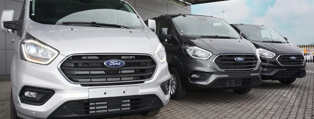 New 2019 Ford Transit Custom Limited
