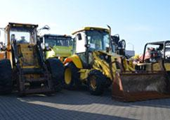 We also offer cars, vans, concrete mixers, tippers, sales vans and building equipment