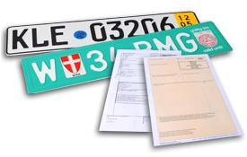 Transit plates to transport your truck or trailer