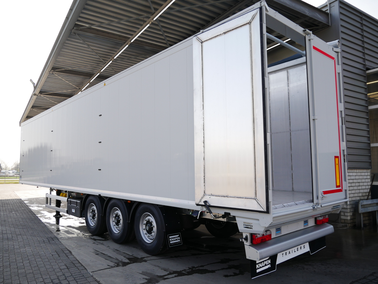 New Knapen Walking Floor Trailers | BAS