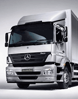 Mercedes new and used trucks