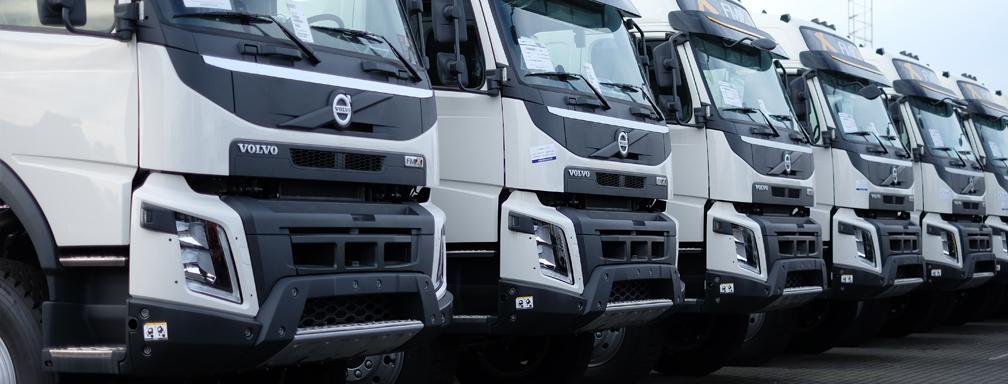 New Volvo FMX 540 6x6 tractorheads