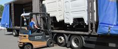 BAS Parts arranges transport of your parts