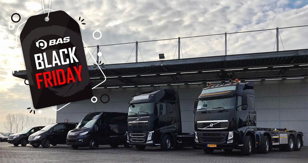 Black friday bij BAS Trucks