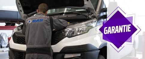 Bij aanschaf bij een bedrijfswagen in combinatie met een complete service nu ook garantie
