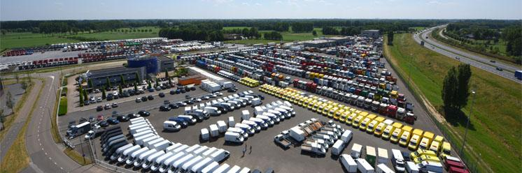 All brands, registration years and types of trucks and trailers