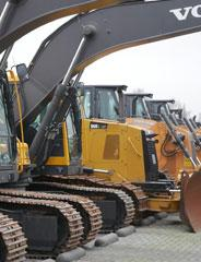 Used machinery and construction equipment