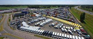 Showroom with 1500 vehicles