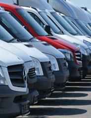 Trading-in vans & commercial vehicles