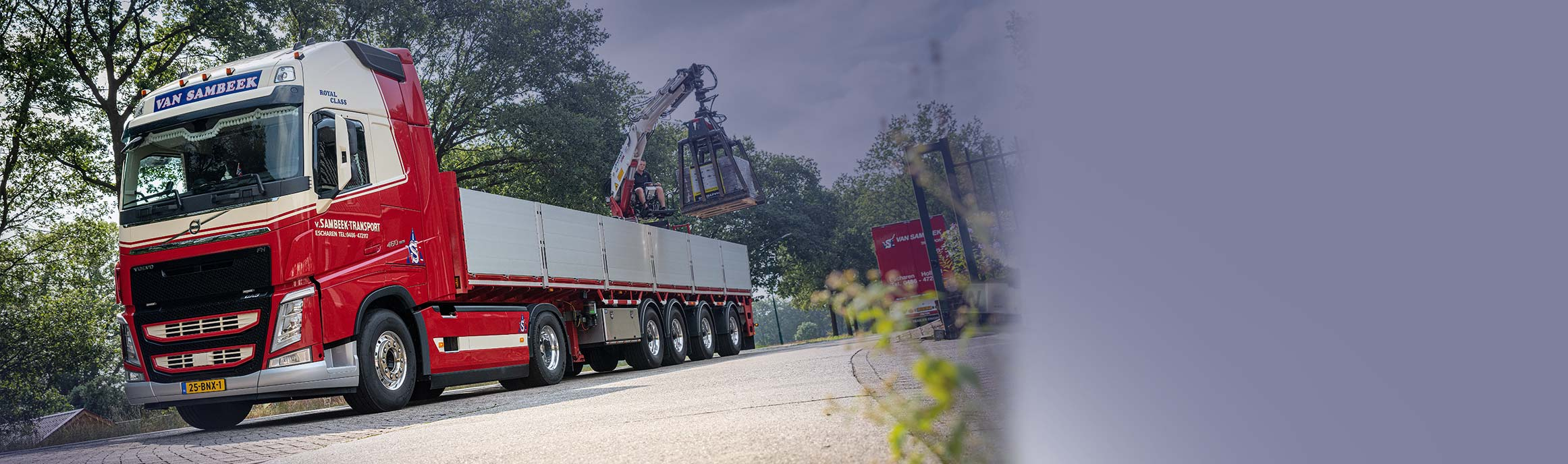 Van Sambeek Transport | 'Nee? Dat woord kennen we niet'