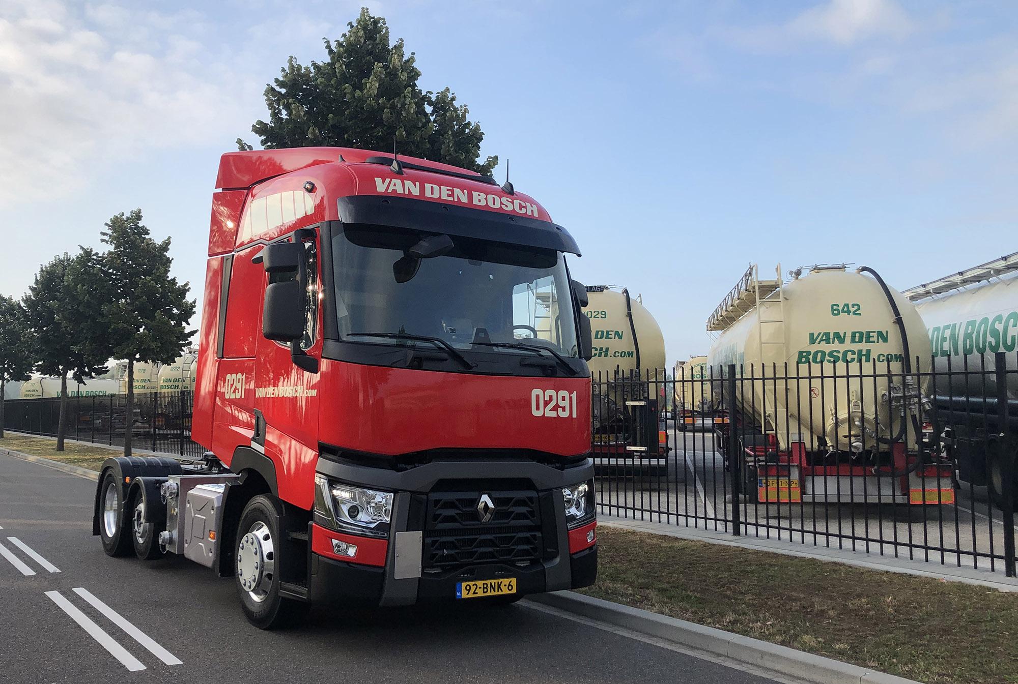 Lichtgewicht trucks...