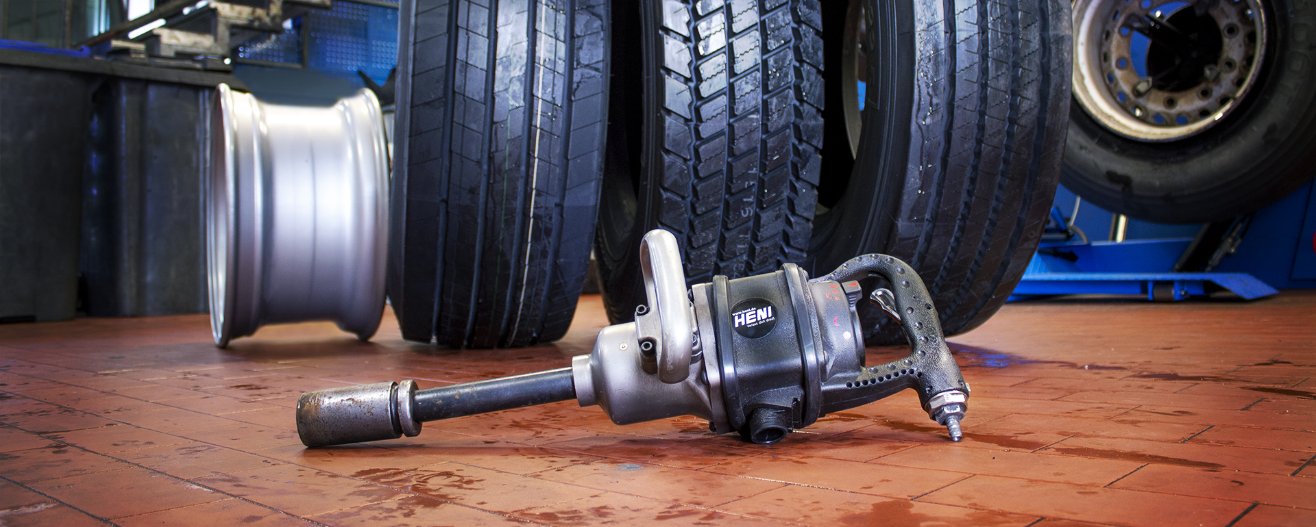 Lkw-Reifen Service auch in Essen