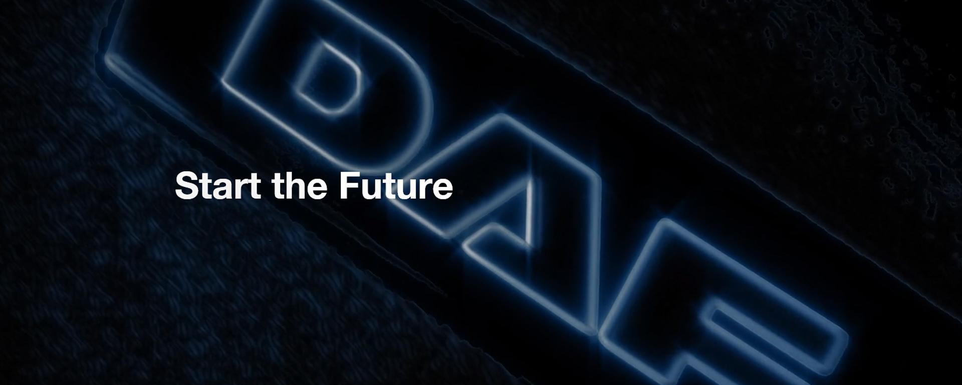 Die Zukunft beginnt
