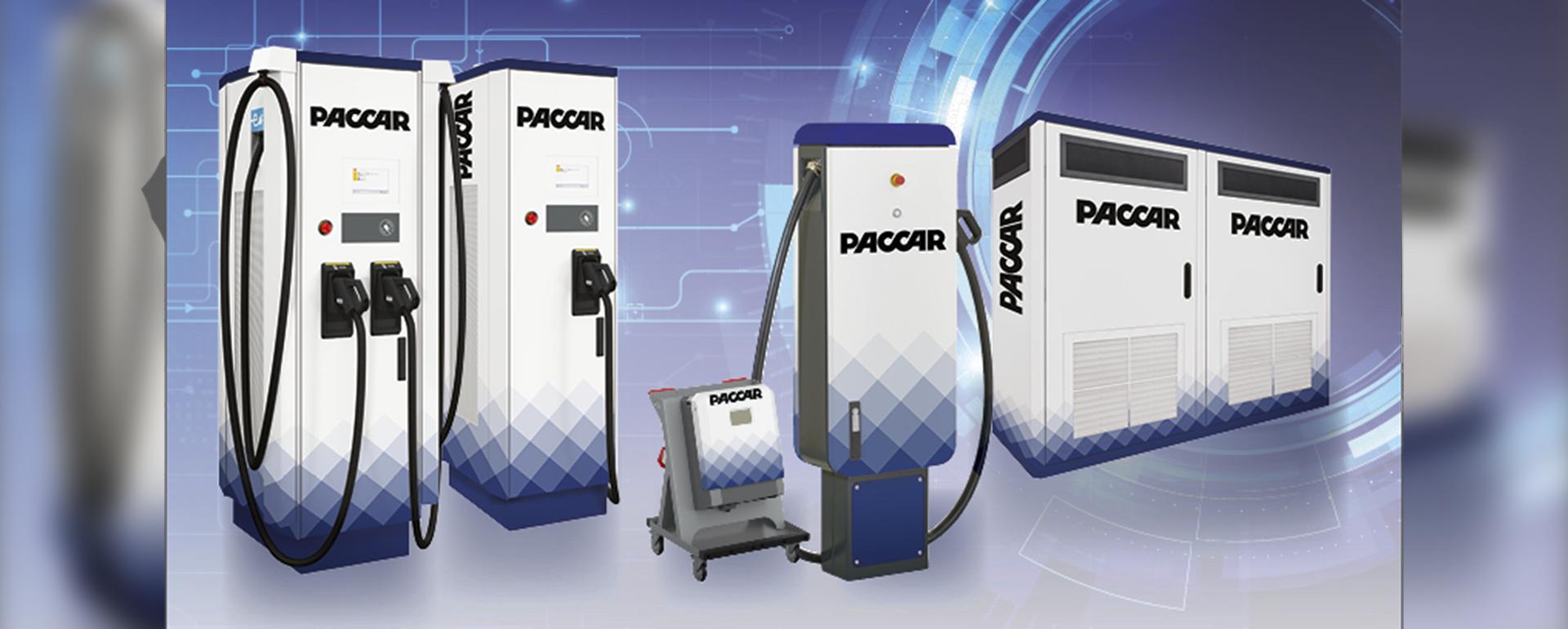 Ladestationen von PACCAR für alle Elektrofahrzeuge