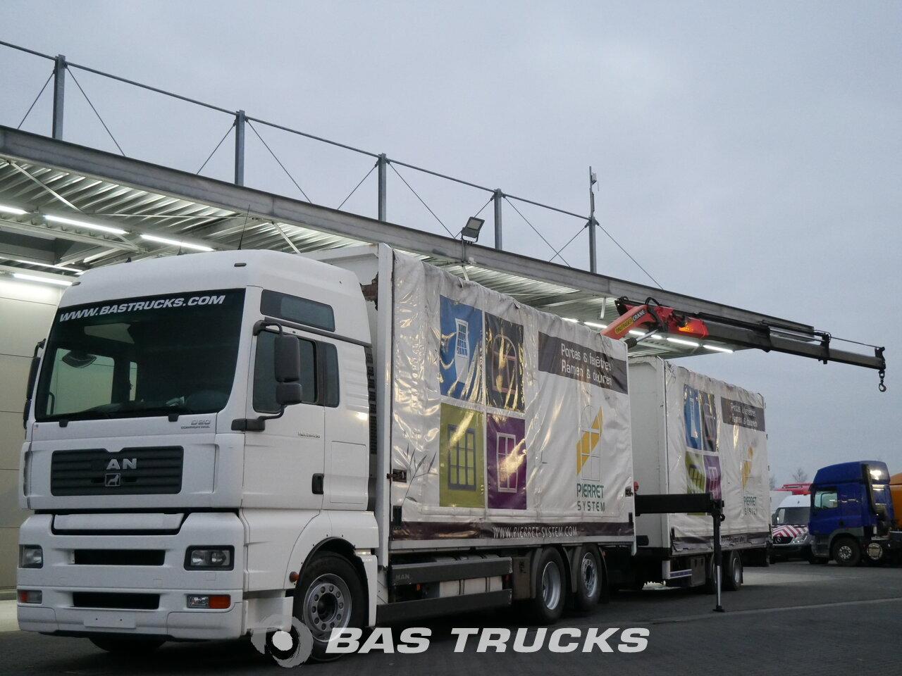 Austria Deuren Dealers : Man tga 26.430 xxl Грузовик Прицеп bas trucks