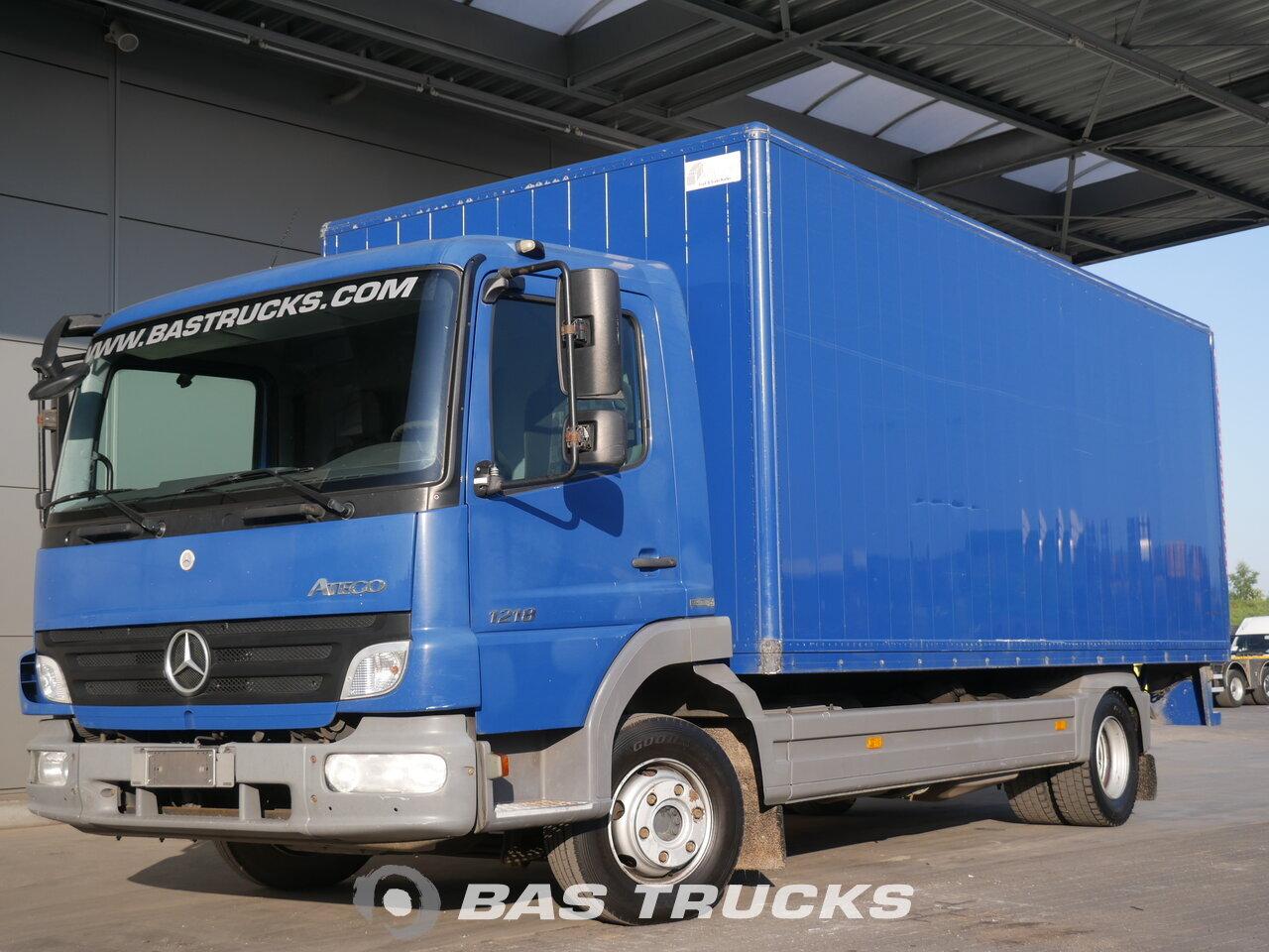 фотография бывший в употреблении Грузовик Mercedes Atego 1218 4X2 2009