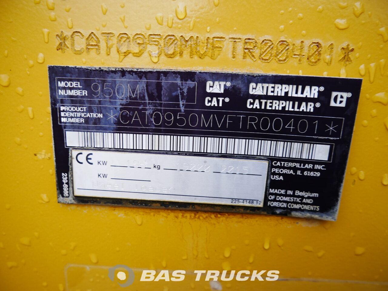 снимка на употребяван Строителна машина Caterpillar 950M 4X4 2015