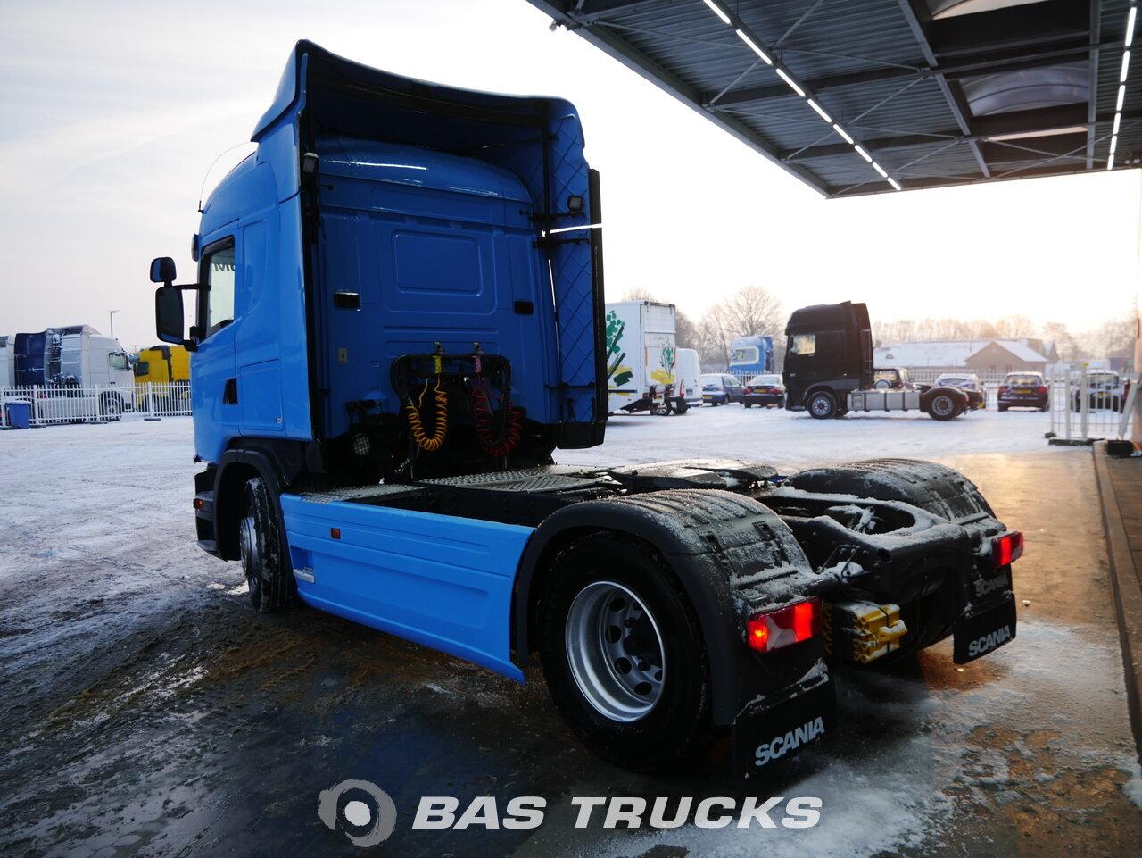 снимка на употребяван Влекачи Scania G410 4X2 2015