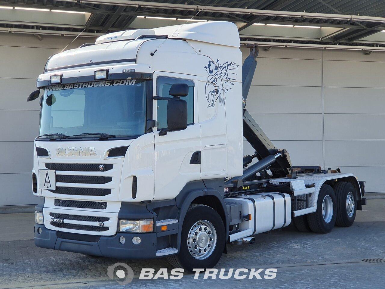 Scania R 560 2012 شاحنات نظام حاويات Bas Trucks