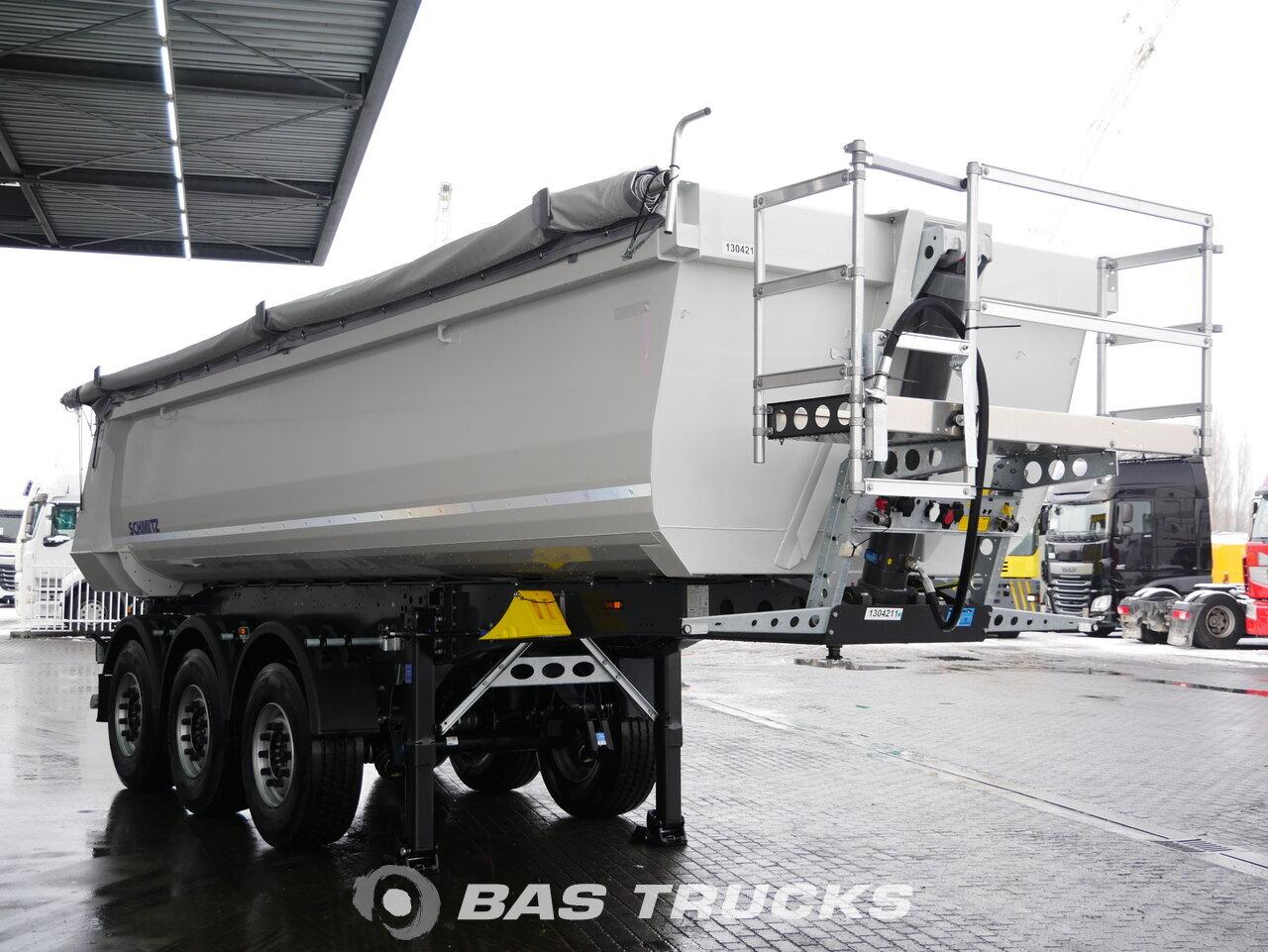 снимка на Нов Полуремарке Schmitz NEW! 24m3 Stahl kipper Liftachse SGF*S3 oси