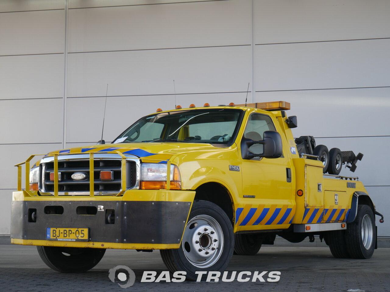Ford F450 Xlt Super Duty Pick Up Lkw 14400 Bas Trucks F 450 Foto Des Gebraucht 4x2 2000