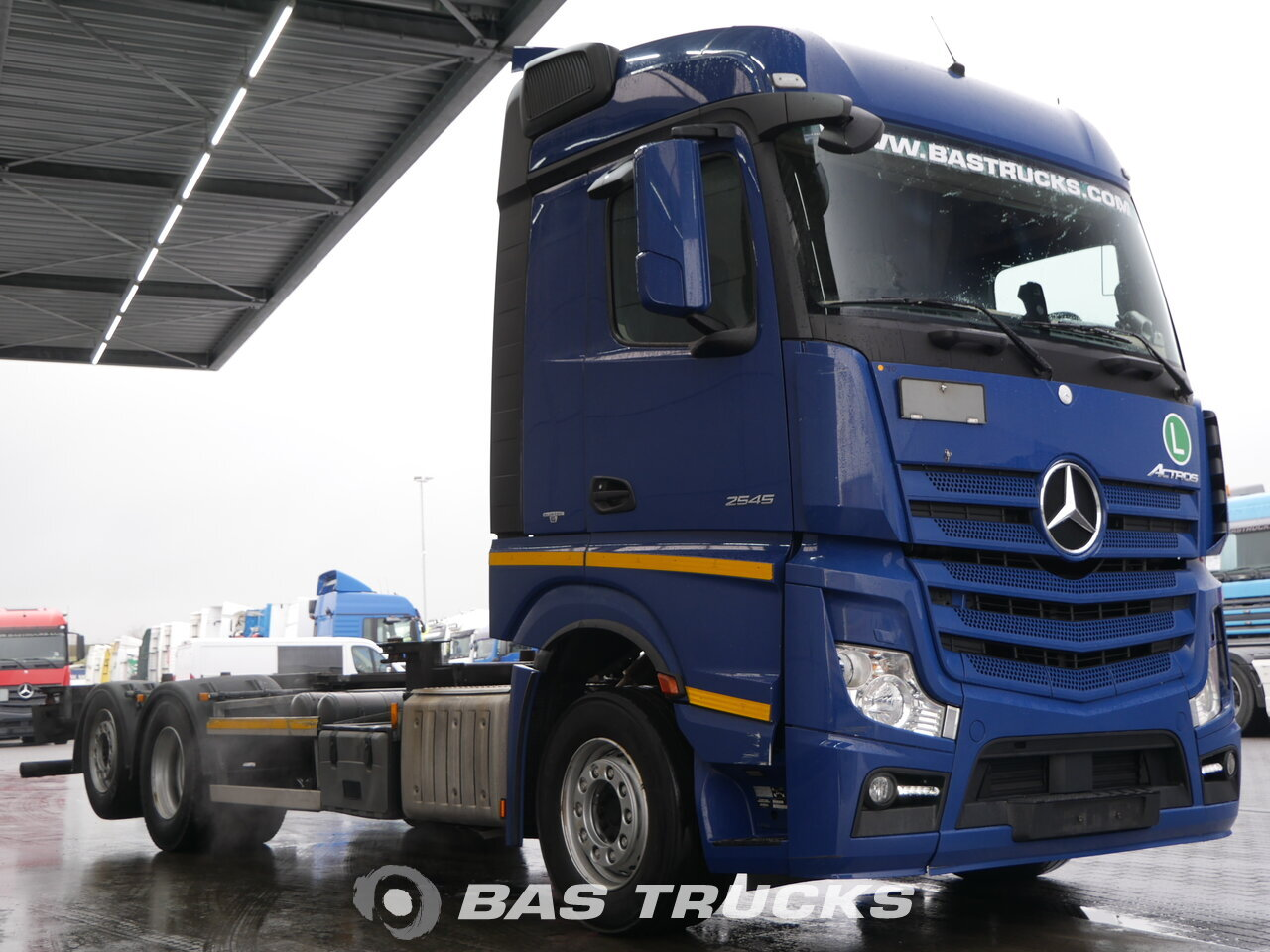 mercedes actros 2545 l lkw euro 6 29600 bas trucks. Black Bedroom Furniture Sets. Home Design Ideas
