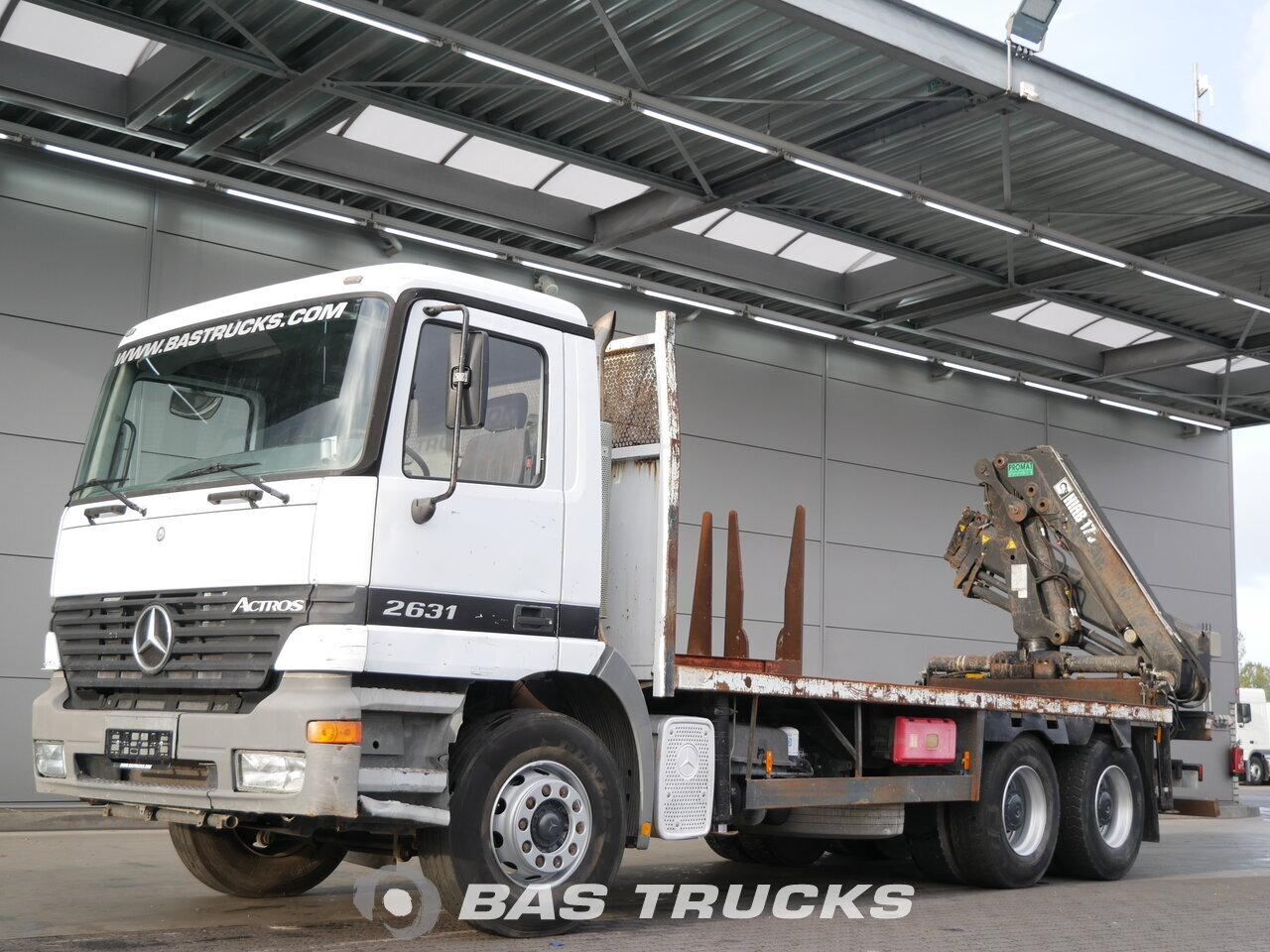 mercedes actros 2631 lkw euro 2 24200 bas trucks. Black Bedroom Furniture Sets. Home Design Ideas