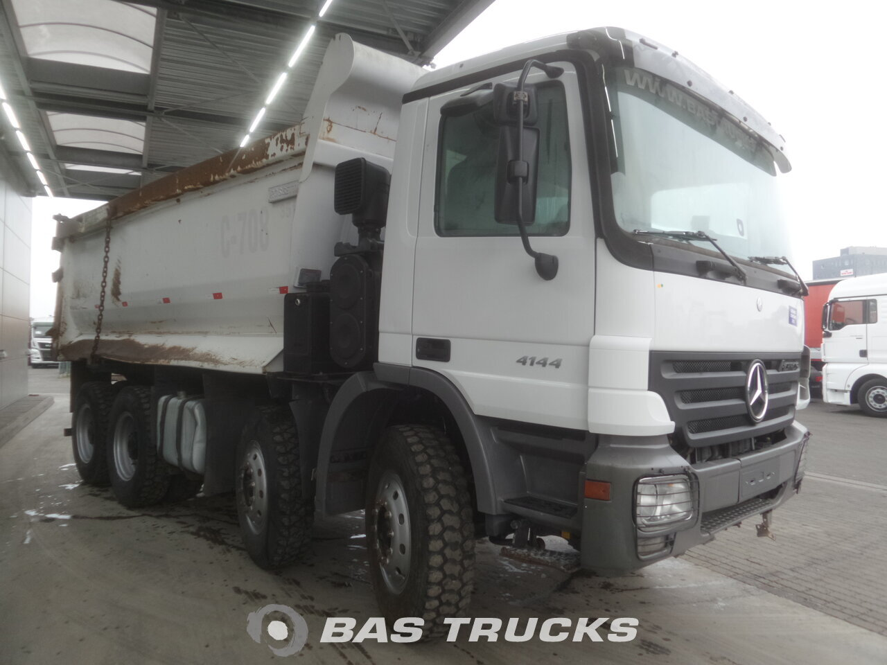 mercedes actros 4144 k lkw euro 3 38200 bas trucks. Black Bedroom Furniture Sets. Home Design Ideas
