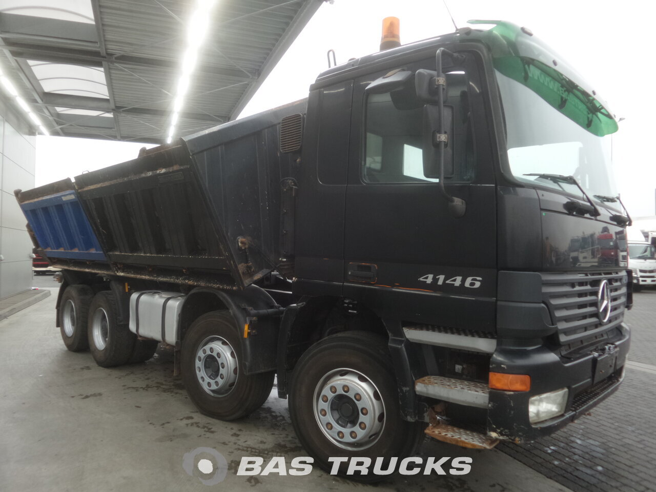 mercedes actros 4146 k lkw euro 3 22600 bas trucks. Black Bedroom Furniture Sets. Home Design Ideas