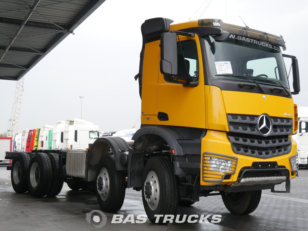 mercedes arocs 4151 ak lkw euro 6 70400 bas trucks. Black Bedroom Furniture Sets. Home Design Ideas