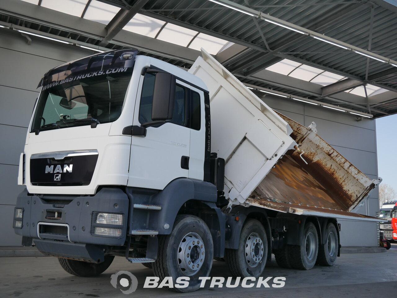 Foto van Gebruikt Bakwagen MAN TGS 41.400 M 8X4 2012