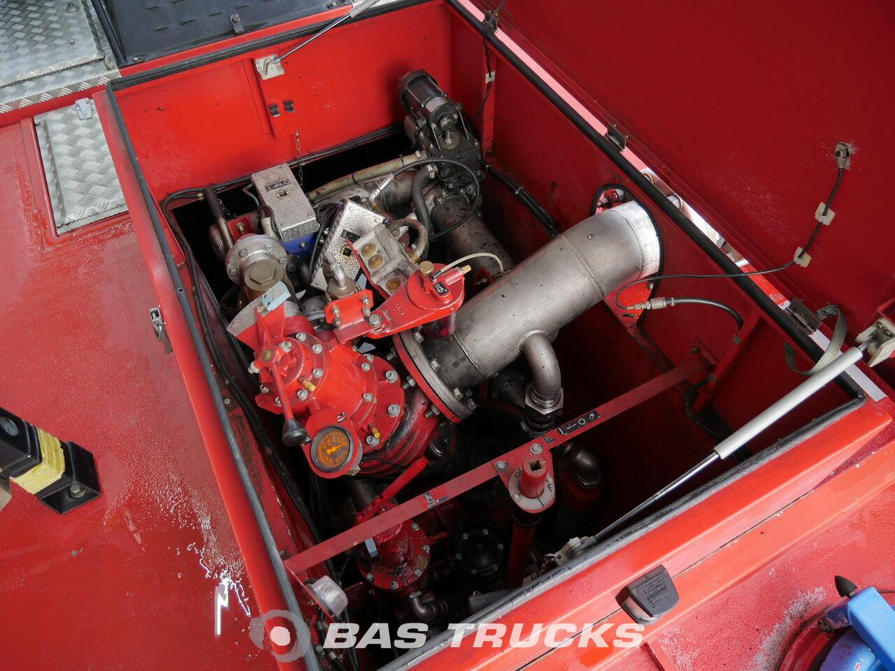 Foto van Gebruikt Bakwagen Mercedes Crashtender Sides Airport Fire Truck 6X6 2003