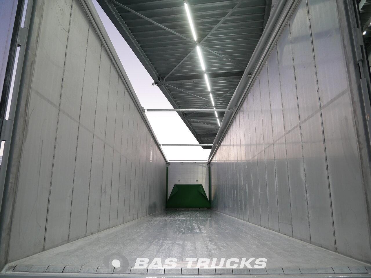Knapen 91m3 cargo floor k100 semi trailer bas trucks for 100 floors floor 91