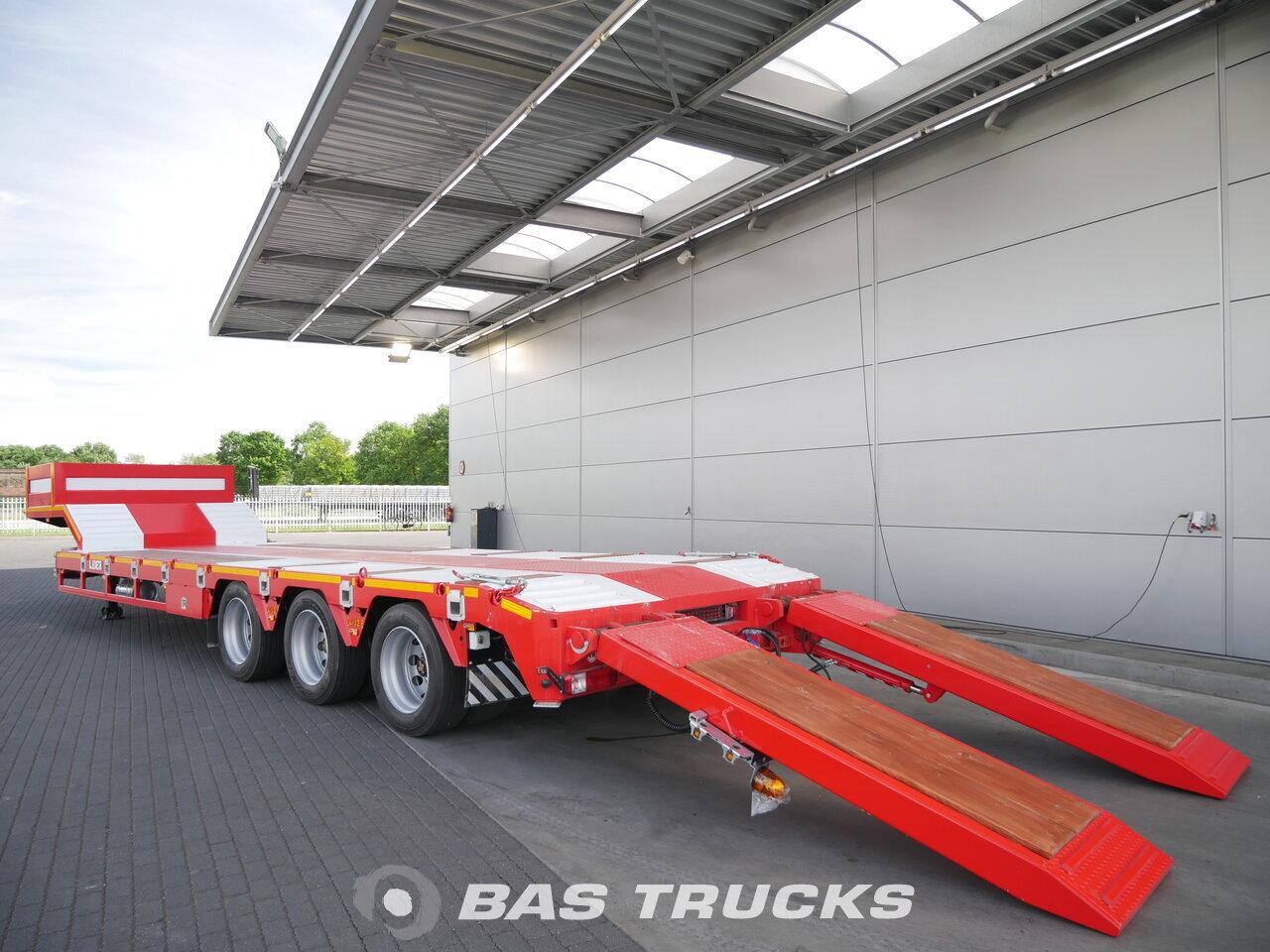 photo of New Semi-trailer LIDER LD07 Hydro-Rampen Steelsuspension 3 Axels