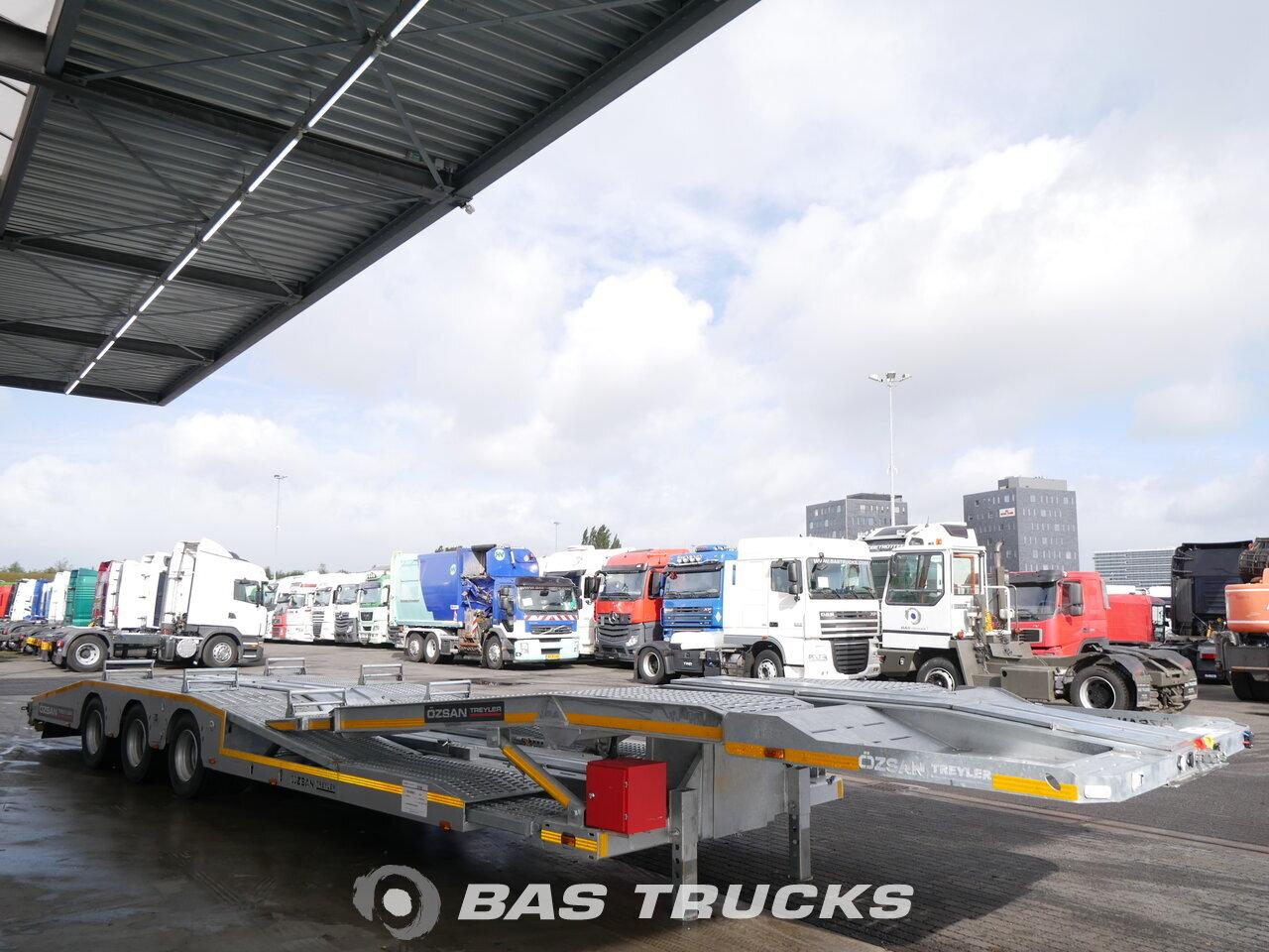 photo of New Semi-trailer OZSAN NL-registration Ausziebar Galvanized 3 Axels