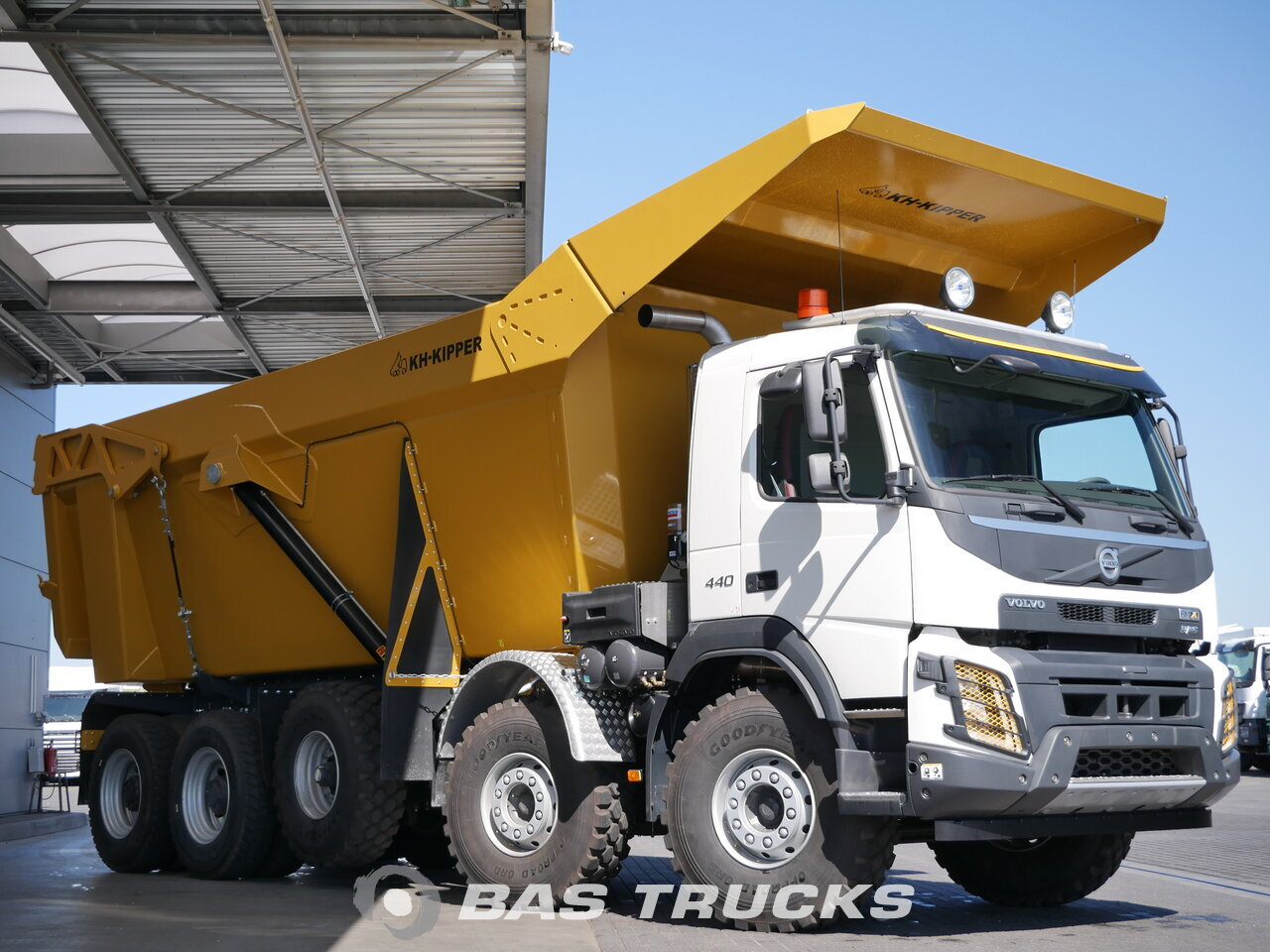 photo of New Truck Volvo FMX 520 10X4