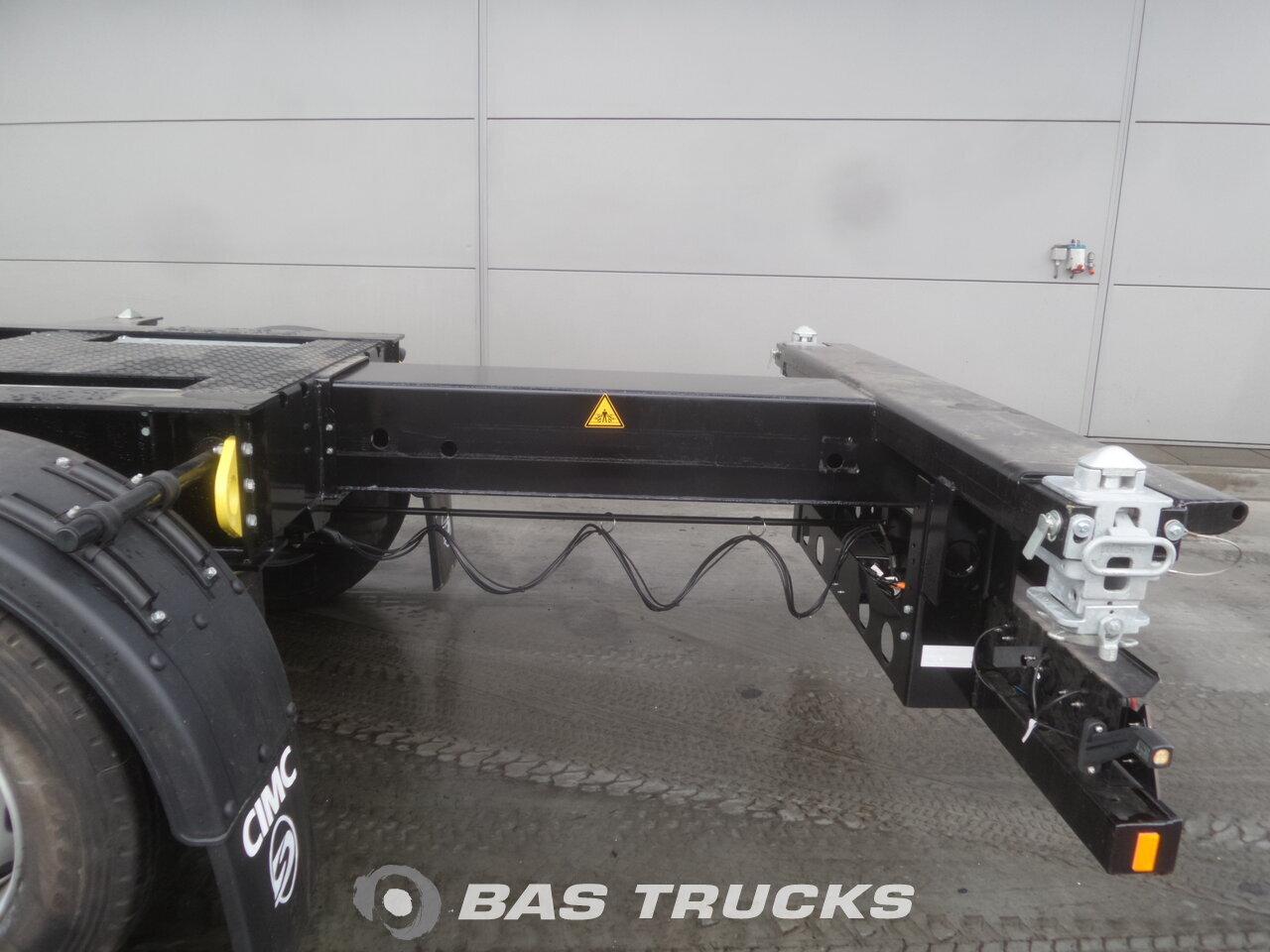 photo de Nouveau Semi-remorques CIMC Ausziebar Extending-Multifunctional-Chassis Liftachse SC03 3 Essieux