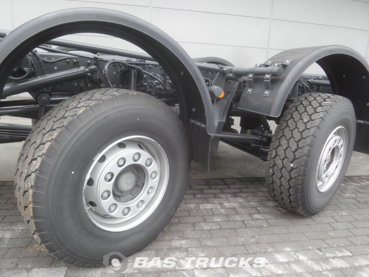 Fénykép: Novo Kamion Mercedes Actros 6555 K 12X6