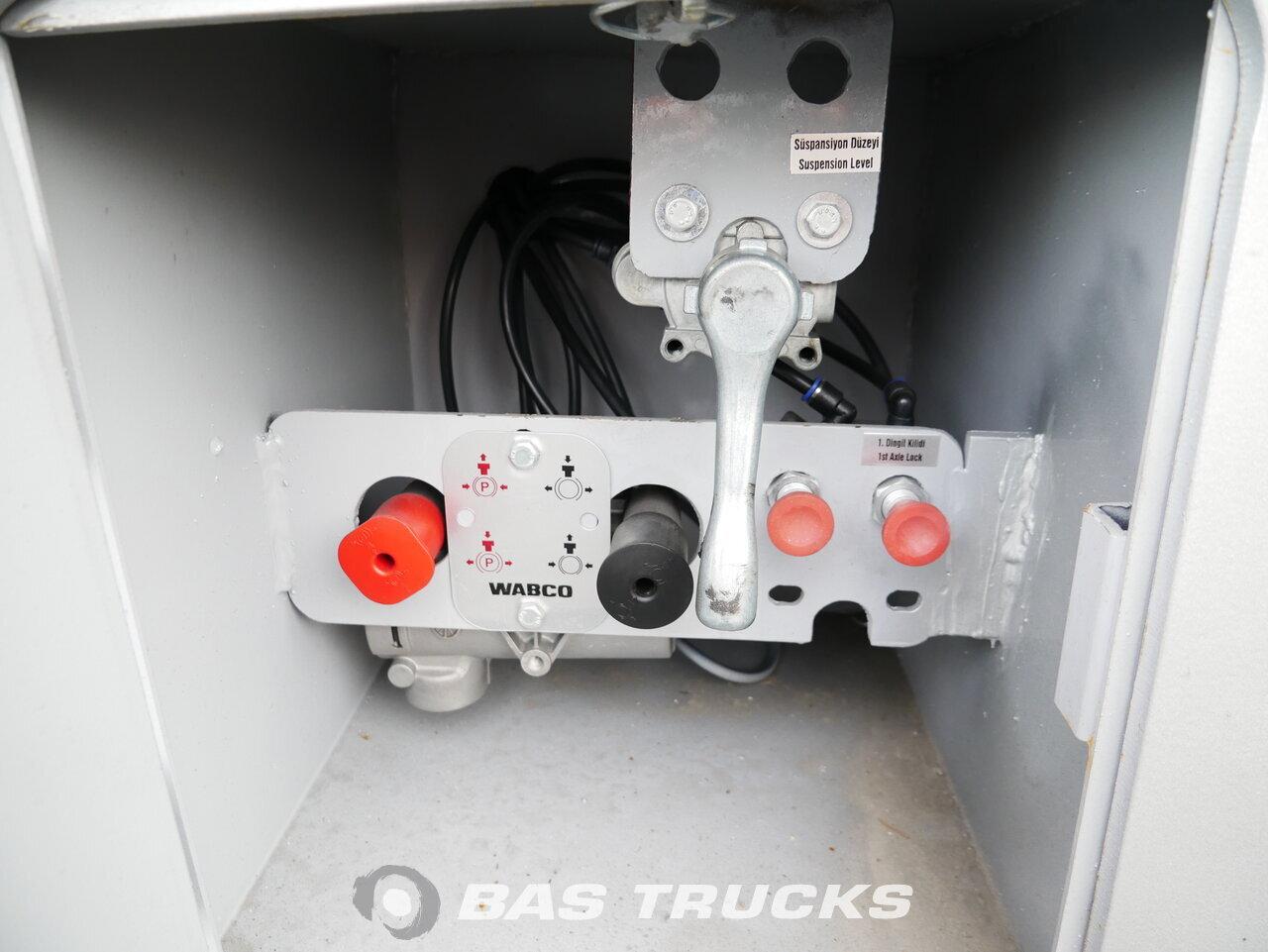Fénykép: Novo Poluprikolica Ozsan Trucktransport SAF-achsen Ausziehbar WABCO OZS-KT3 Osovine