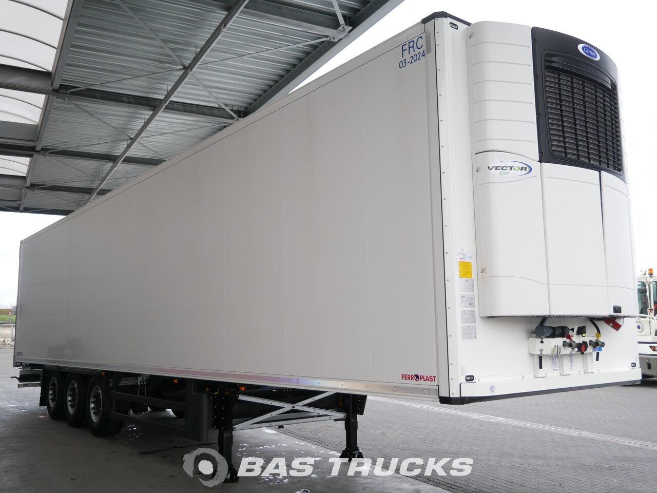 Fénykép: Novo Poluprikolica Schmitz SCB*S3B NEW UNUSED Carrier Vector 1550 Liftachse Osovine