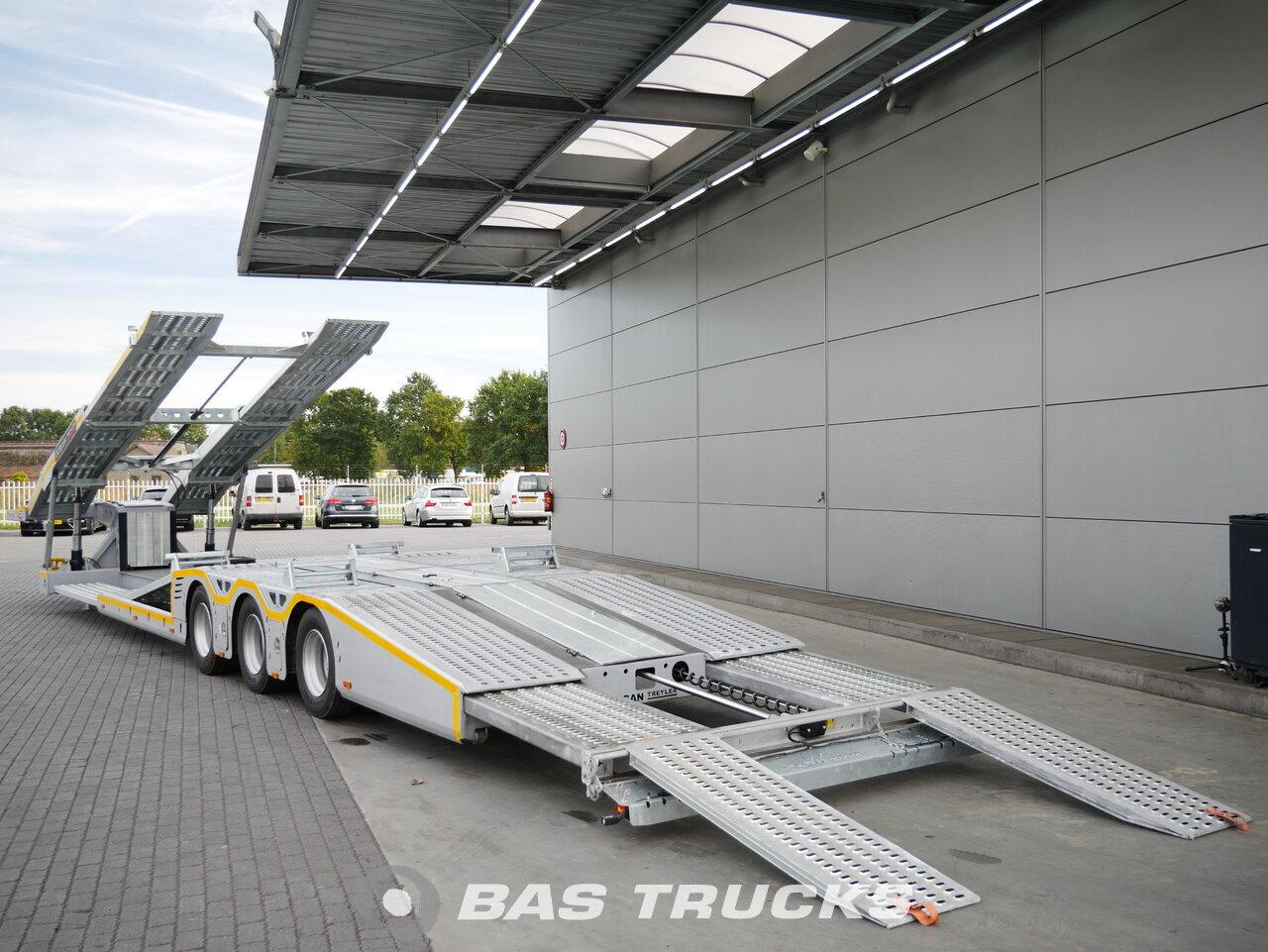 foto de Nuevo Semirremolque Ozsan Trucktransport SAF-achsen Ausziehbar WABCO OZS-KT3 Ejes