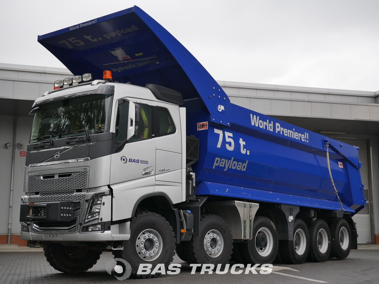 volvo fh16 750 motrice euro 6 €0 - bas trucks