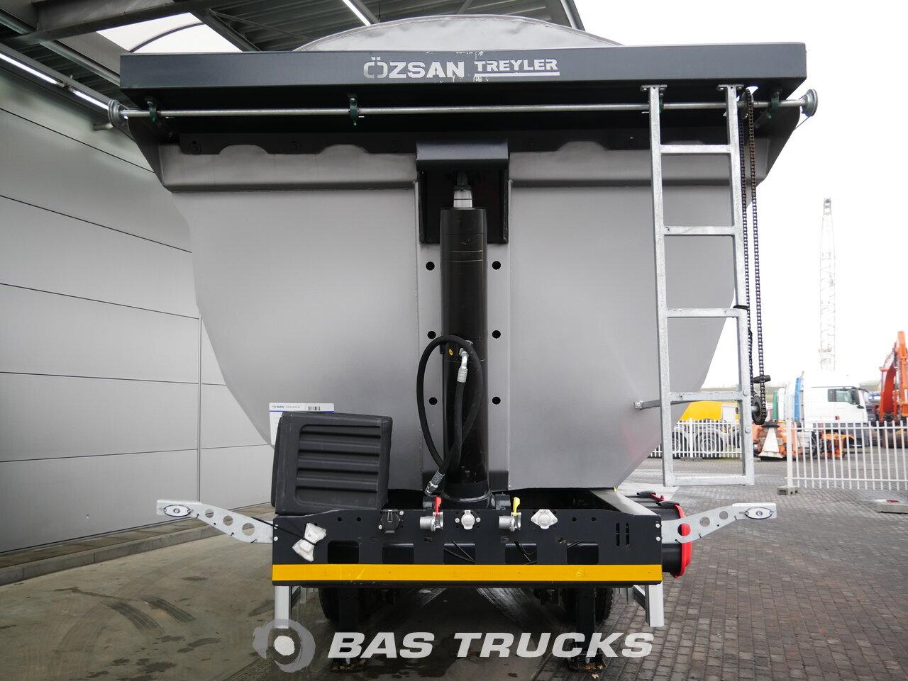 foto di Nuovo Semirimorchio Ozsan 24m3 Stahlkipper 2x SAF Liftachse WABCO assi