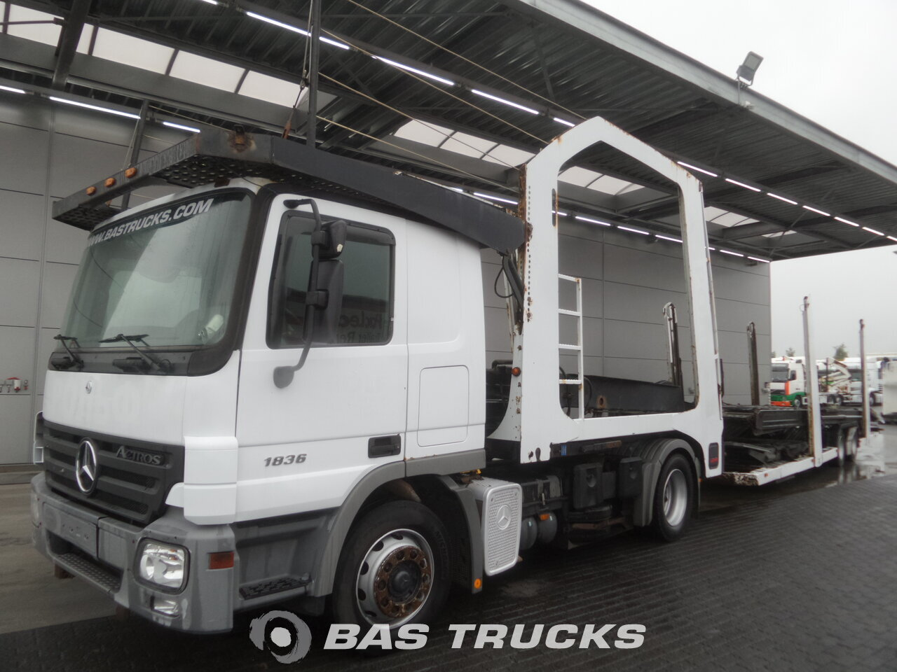 photo de Occasion Camion + Remorque Mercedes Actros 1836 L 4X2 2006